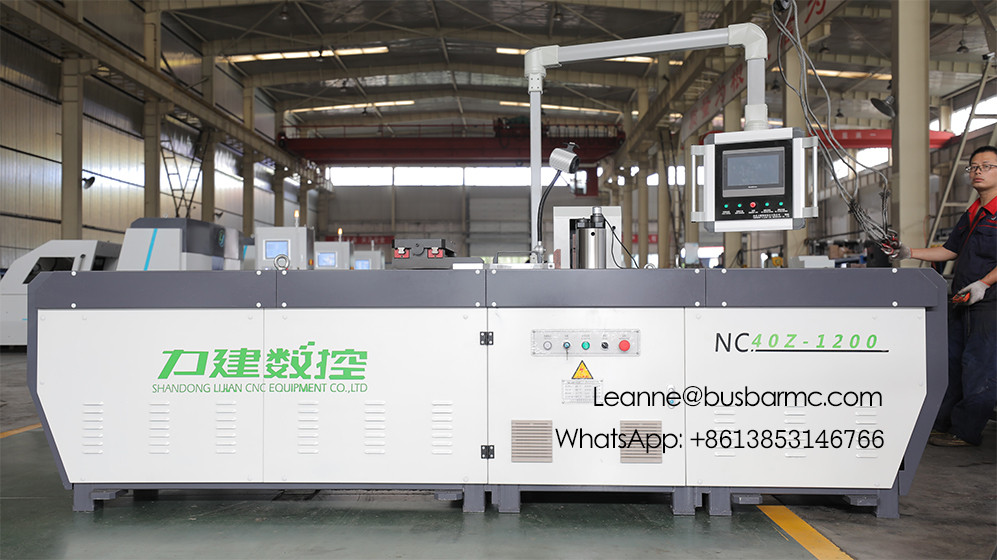NC.40Z-1200 CNC Copper busbar Bending machine